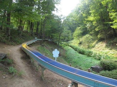 花木園ローラー滑り台