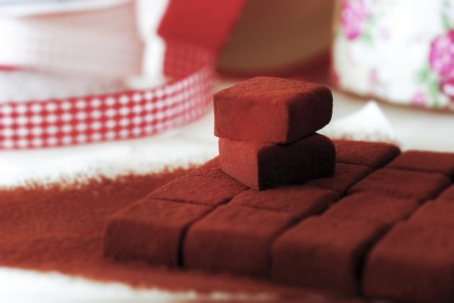 バレンタインの手作りチョコ2