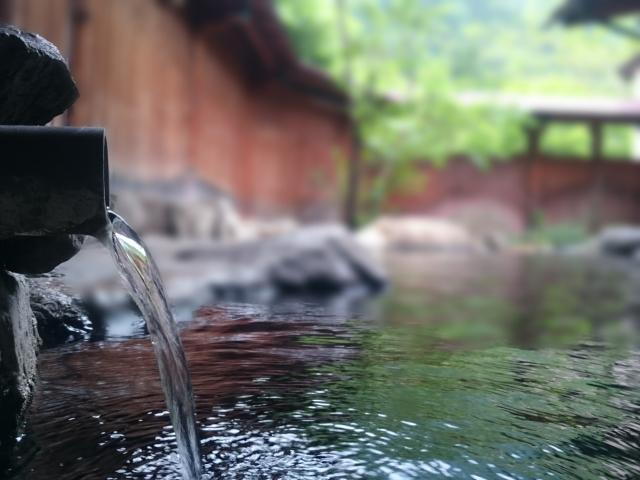 単純温泉露天風呂