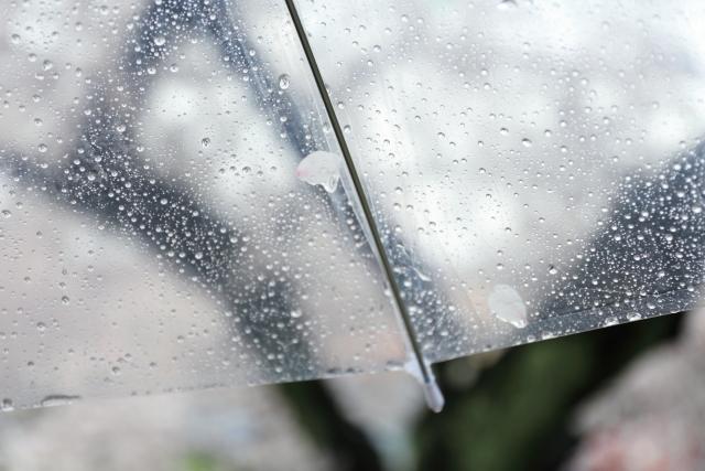 梅雨時期傘