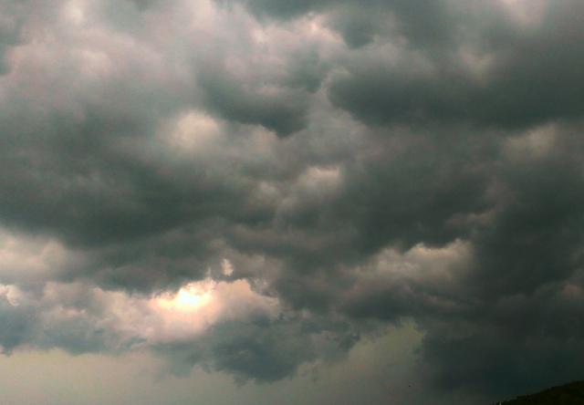 梅雨時期の空