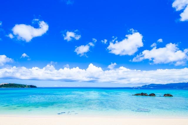 7月の沖縄ビーチ
