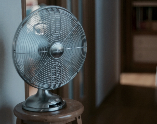 猛暑対策扇風機