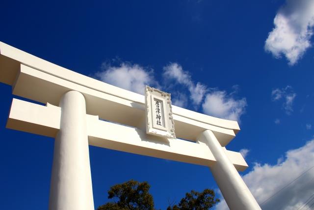 唐津神社鳥居