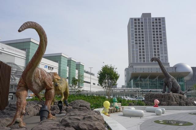 恐竜の化石発掘福井県