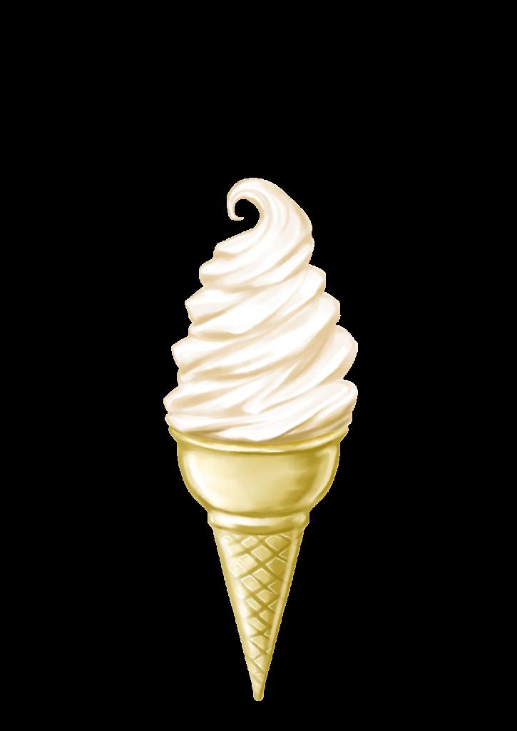 道の駅群馬ソフトクリーム