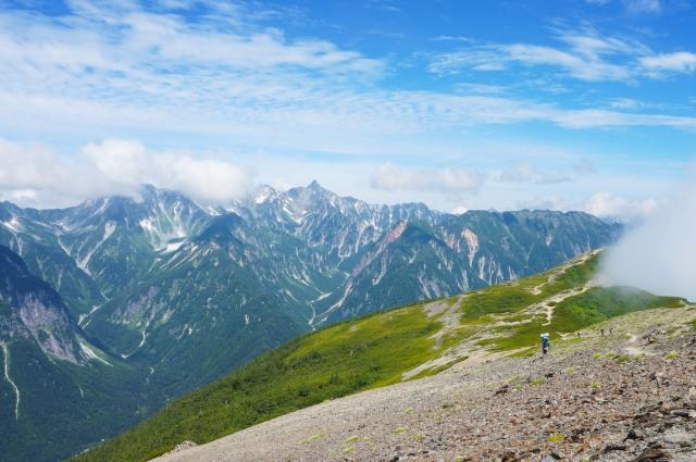 北アルプス登山絶景スポット