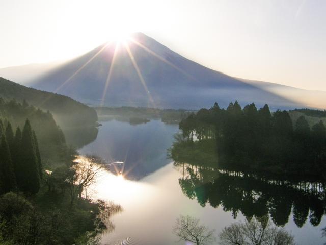 初日の出スポット関東山