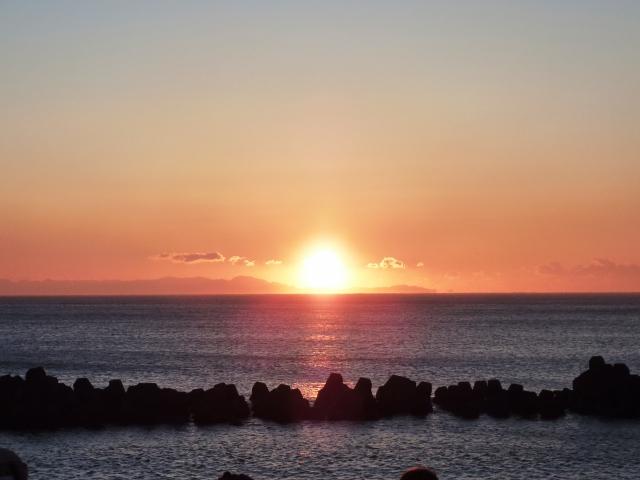 初日の出スポット関東海