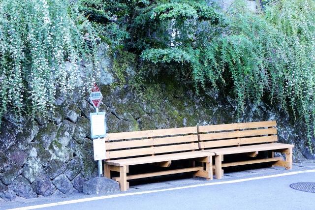 温泉秘湯北海道バス停