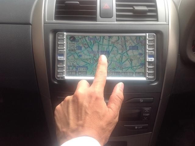 車の燃費向上ルート変更