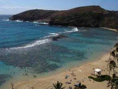 ハワイの大自然