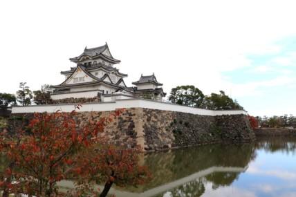 岸和田城のお堀