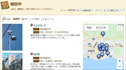 磐田市観光スポット!