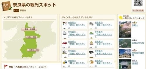 奈良の観光スポット!