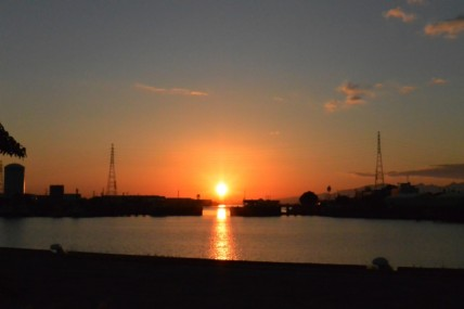 三池港 光の航路